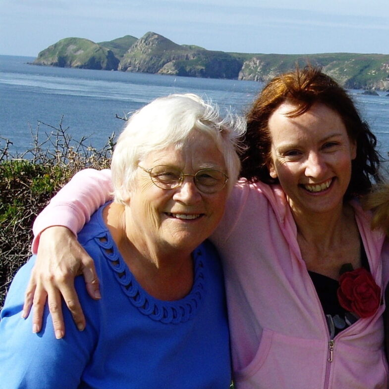 My mum and me SAL, Pembrokeshire Wales 2009